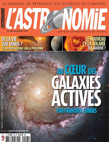 L'Astronomie novembre 2020