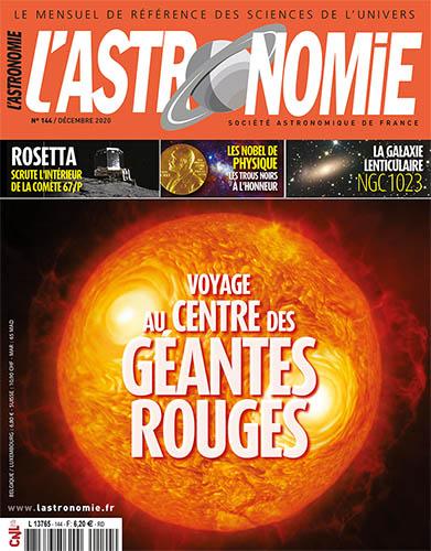 L'Astronomie de décembre 2020