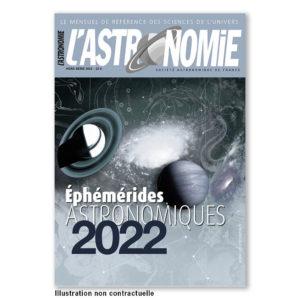 Souscription éphémérides 2022