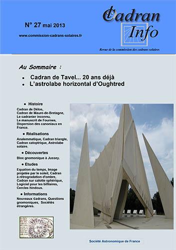 Cadran-Info 27
