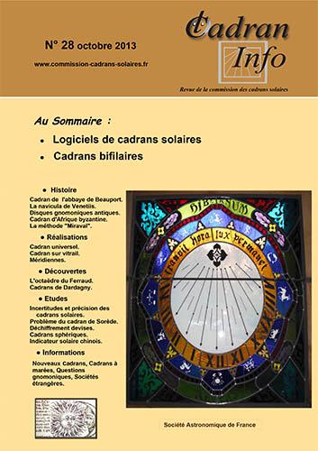 Cadran-Info 28
